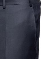 Water-resistant wool pants