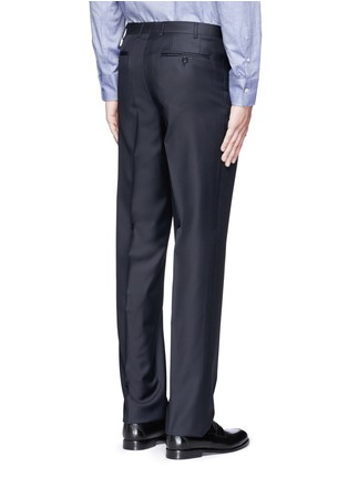 Back View - Click To Enlarge - Canali - Water-resistant wool pants
