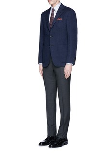 Canali 'Kei' double faced cashmere blazer