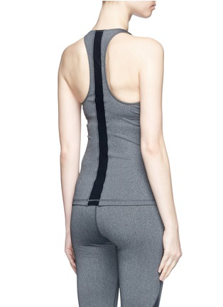 Back View - Click To Enlarge - The Upside - 'Yana' racerback logo performance tank top