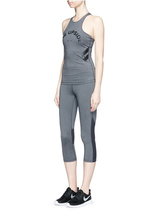 Figure View - Click To Enlarge - The Upside - 'Guru NYC' performance capri leggings