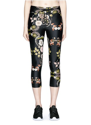 Main View - Click To Enlarge - The Upside - 'Varese NYC' floral print performance capri leggings
