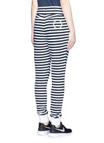 'The Como' stripe French terry sweatpants