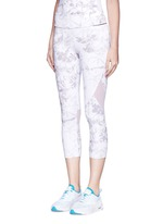 'White Palm' captain performance crop tights