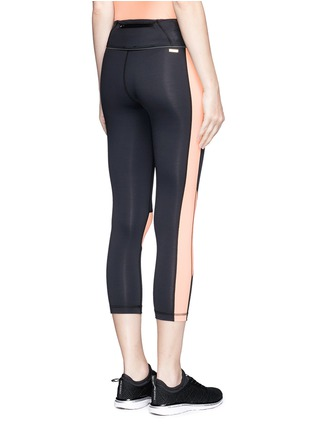 Back View - Click To Enlarge - Alala - Blocked performance crop tights