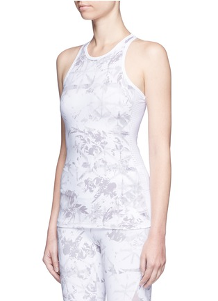 Front View - Click To Enlarge - Alala - 'White Palm' racerback tank top