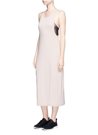 Figure View - Click To Enlarge - Alala - Mesh insert tank dress