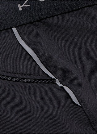 Detail View - Click To Enlarge - Koral - 'Emblem' logo waistband performance shorts