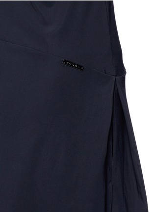 Detail View - Click To Enlarge - KORAL - 'Pivot' keyhole back A-line tennis dress