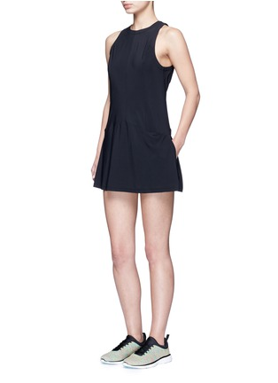 Figure View - Click To Enlarge - KORAL - 'Pivot' keyhole back A-line tennis dress