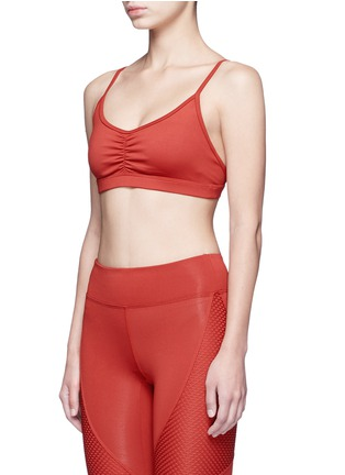 Front View - Click To Enlarge - Koral - 'Elements' performance sports bra