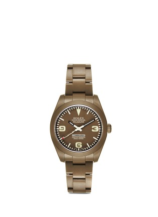 Main View - Click To Enlarge - Bamford Watch Department - 'Commando CM18: Combat' Rolex Milgauss GPC oyster perpetual watch