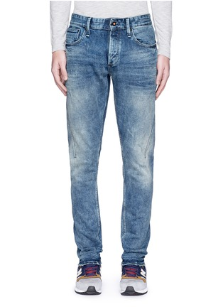 Detail View - Click To Enlarge - Denham - 'Cross' carrot fit jeans