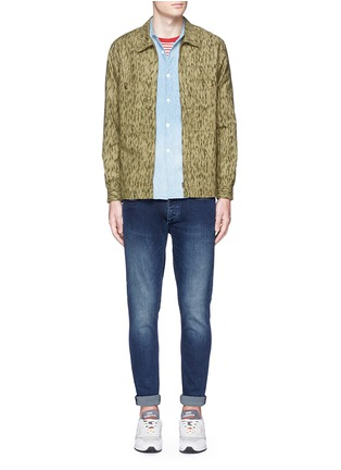 Figure View - Click To Enlarge - Denham - 'Bolt' skinny jeans