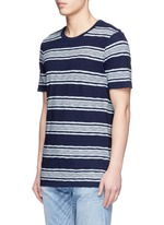 'Signature' stripe cotton T-shirt