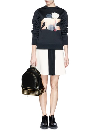 - Michael Kors - 'Rhea' stud small leather backpack