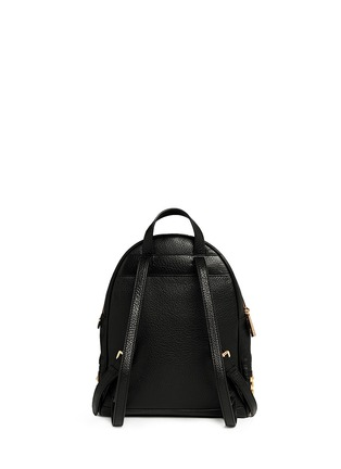 Back View - Click To Enlarge - Michael Kors - 'Rhea' stud small leather backpack