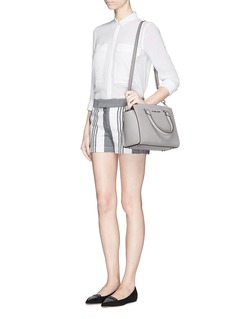 MICHAEL KORS'Selma' medium saffiano leather satchel