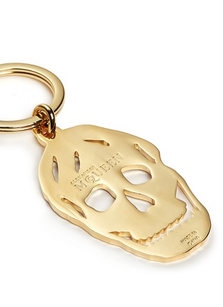 Detail View - Click To Enlarge - Alexander McQueen - Cutout skull keyring