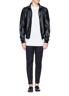 Dolce & Gabbana Leather racer jacket