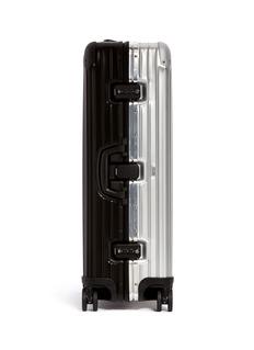 RIMOWA Topas Stealth Special Multiwheel® (Two-Tone: Black & Silver, 84-litre)