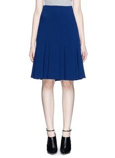 THAKOONPleat flare skirt