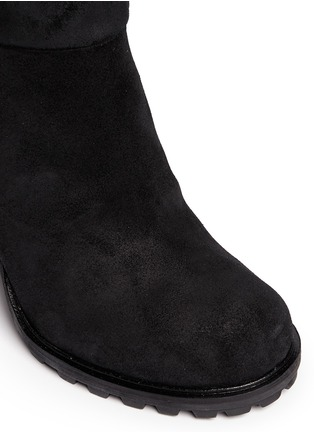 Detail View - Click To Enlarge - Sam Edelman - 'Franklin' brushed suede ankle boots