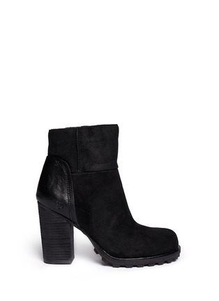 Main View - Click To Enlarge - Sam Edelman - 'Franklin' brushed suede ankle boots
