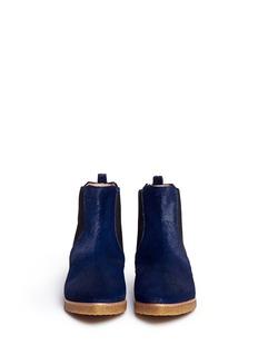 FABIO RUSCONIPony hair Chelsea boots