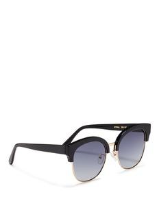 Spektre'Skyfall' acetate round sunglasses