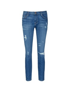 Current/Elliott 'The Fling' relaxed fit distressed jeans