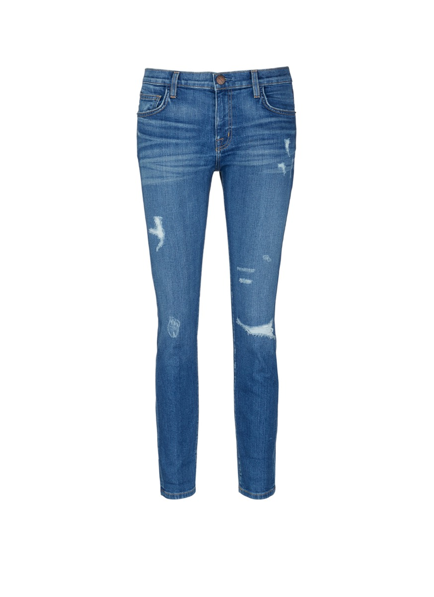 The Fling relaxed fit distressed jeans by Current/Elliott