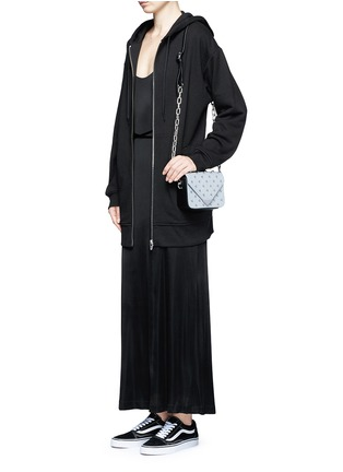 Figure View - Click To Enlarge - T By Alexander Wang - Crossover strap jersey maxi dress