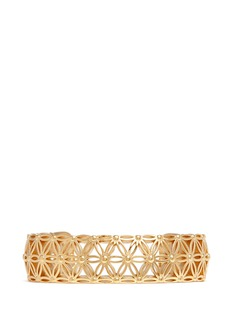 Philippe Audibert'Lacey' floral cutout cuff