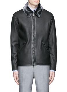 ISAIAShearling blouson jacket