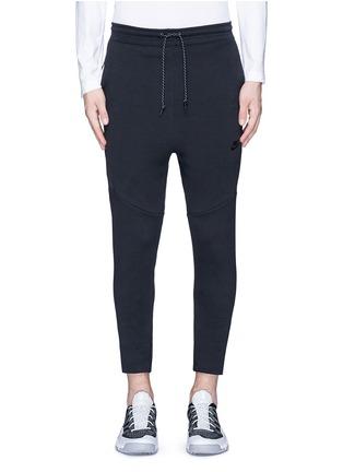 Nike-'Tech Fleece' cropped drawstring sweatpants