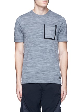 Main View - Click To Enlarge - Nike - 'Tech Knit' pocket T-shirt