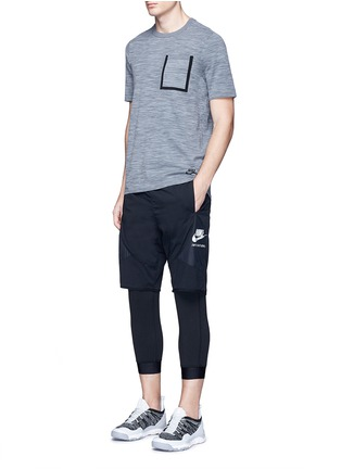 Figure View - Click To Enlarge - Nike - 'Tech Knit' pocket T-shirt