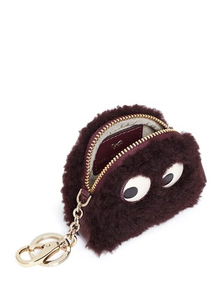 Anya Hindmarch - 'Ghost' shearling coin pouch