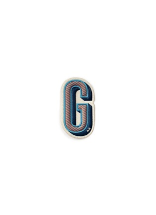 Main View - Click To Enlarge - Anya Hindmarch - x Chaos Fashion 'G' alphabet leather sticker