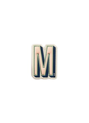 Main View - Click To Enlarge - Anya Hindmarch - x Chaos Fashion 'M' alphabet leather sticker