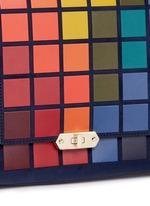 'Pixels Bathurst' patchwork suede satchel