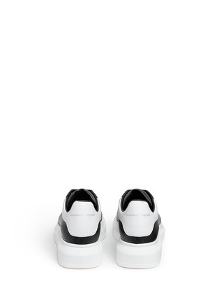 Back View - Click To Enlarge - Alexander McQueen - 'Larry' leather sneakers