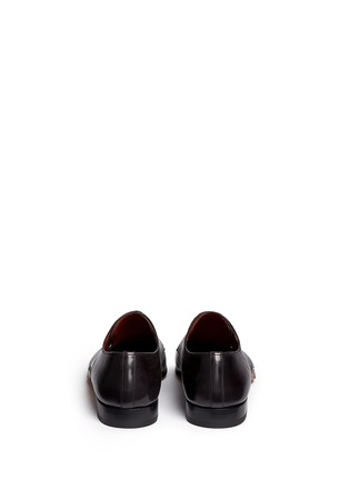 Back View - Click To Enlarge - Magnanni - Three eyelet leather Derbies