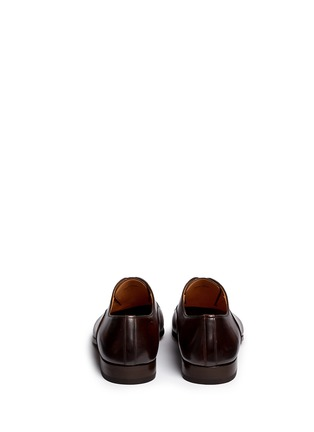 Back View - Click To Enlarge - Magnanni - Toe cap six eyelet leather Oxfords