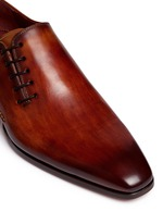 Artesano sole side lace-up leather Oxfords