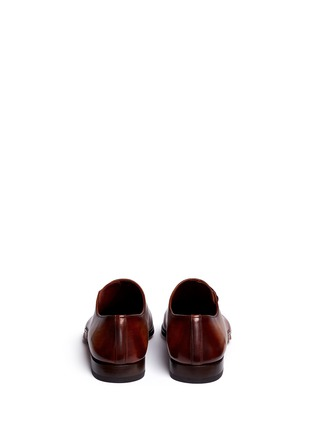 Back View - Click To Enlarge - Magnanni - Artesano sole side lace-up leather Oxfords