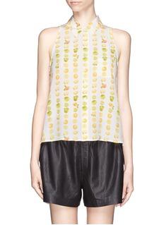 EQUIPMENTMina citrus print shirt