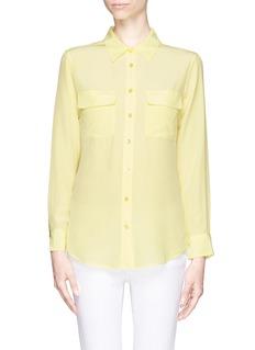 EQUIPMENTSignature slim shirt