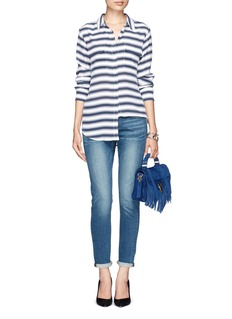 FRAME DENIM 'Le Garçon' washed boyfriend jeans